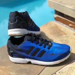 782413954 adidas Shoes - Adidas Torsion ZX FLUX Beach Print Blue (Men s 10)
